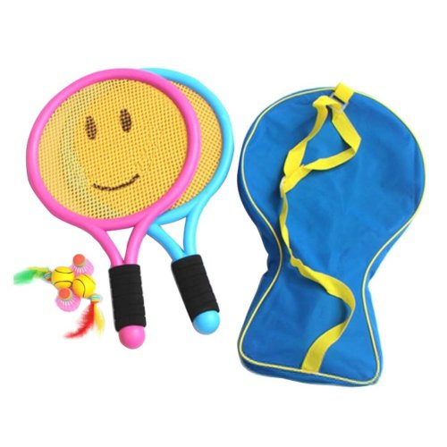 Cute Children Sports Racket Toys Tennis/Badminton Racket-Smile