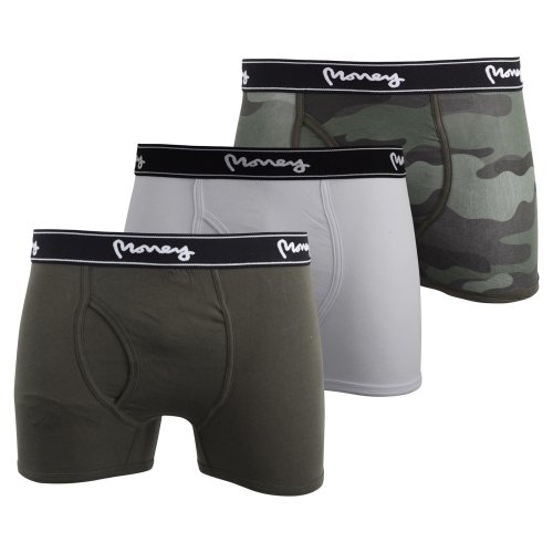 Mens multipack boxers crosshatch prizion