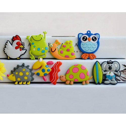 Set of 8 Fridge Magnets Cute Small Animal Magnets for Kids