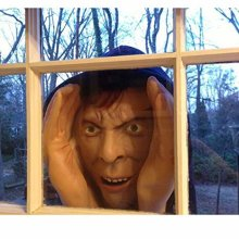 Scary Halloween Decorations Peeping Tom Props - Scary Peeper True to Life Window Wicked Pranks Halloween Stuff   As seen on Jonathan Ross Show