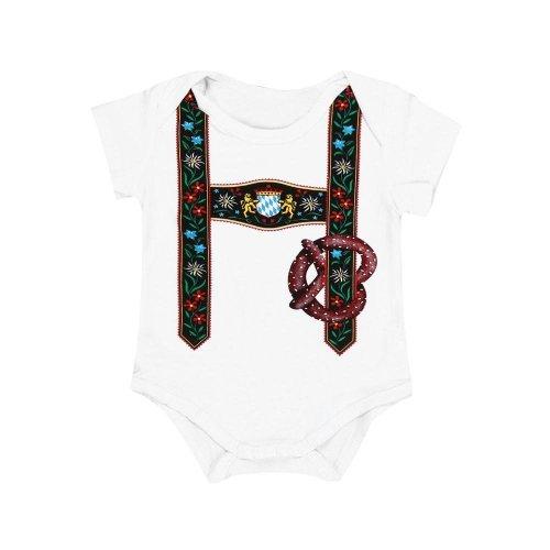 2017 fashion baby clothes newborn unisex Baby Boys Girls Short Sleeve Print white Shirt Romper Jumpsuit Clothes