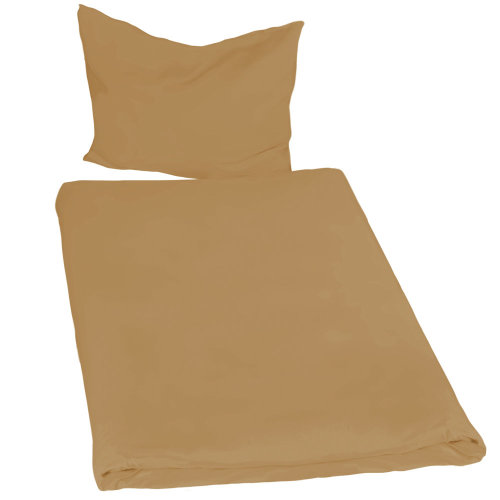 4 bedding sets 200x135cm 2-piece brown