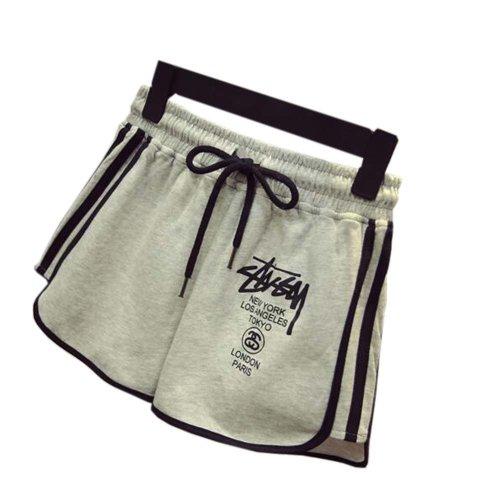 Women's Hot Active Wear Lounge Shorts Elastic Waist Gym Pants,#A 7