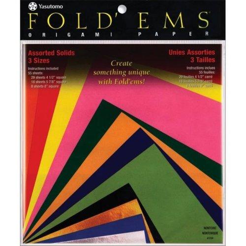 Fold 'Ems Origami Paper 55/Pkg