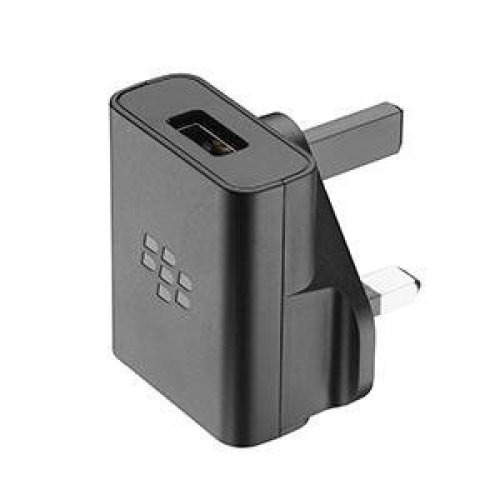 Blackberry AC-1300UK Mains Charger with 1.2 m Micro-USB Cable - Black