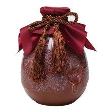 [E] Ceramic Empty Wine Bottle Creative Wine Jar Chinese Style Small Flagon