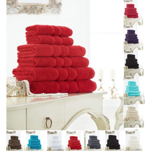 Zero Twist Bath Towel Pack of 2 Soft and Luxury in Colors