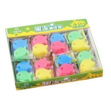 Luminous Jelly Erasers, Creative Student Prize Award Gift, 72 Count Fish Erasers