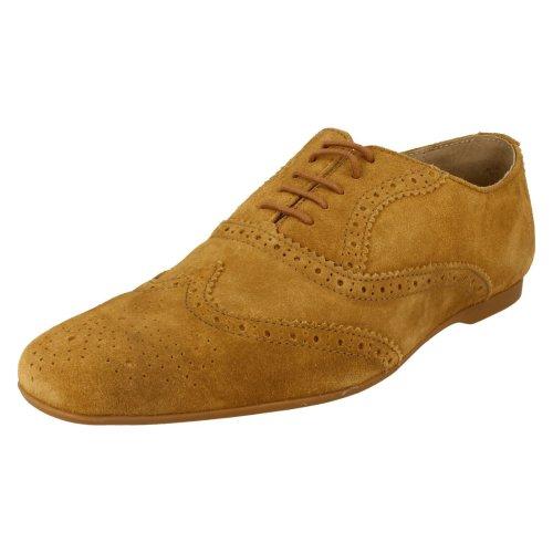 Mens Base London Lace Up Shoes Suspect Suede Tan Size 9 UK