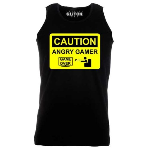 Reality Glitch Men's Angry Gamer Vest