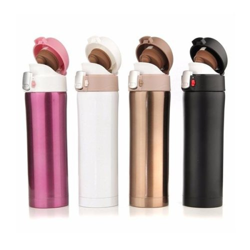 450ml Thermos Cup Stainless Steel Bottle Vacuum Flasks Travel Mug
