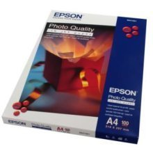 Epson Photo Quality Ink Jet Paper, DIN A4, 102g/m2, 100 Sheets photo paper