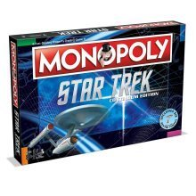 Monopoly Star Trek Continuum Edition Board Game