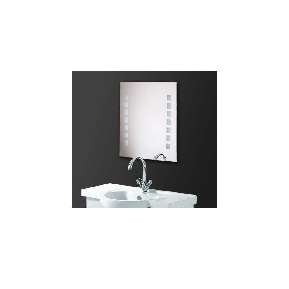 Homcom Led Illuminated Bathroom Mirror Wall Light on OnBuy