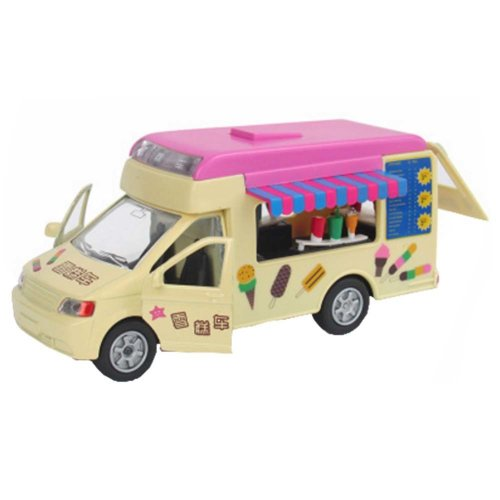 Cake Ice Cream Car Dining Car Alloy Car With Sound And Light