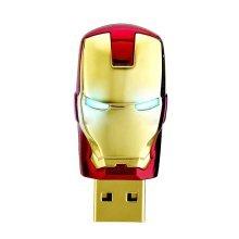 16Gb Red Gold Super Man Iron Mask Memory Stick Novelty USB Flash Drive