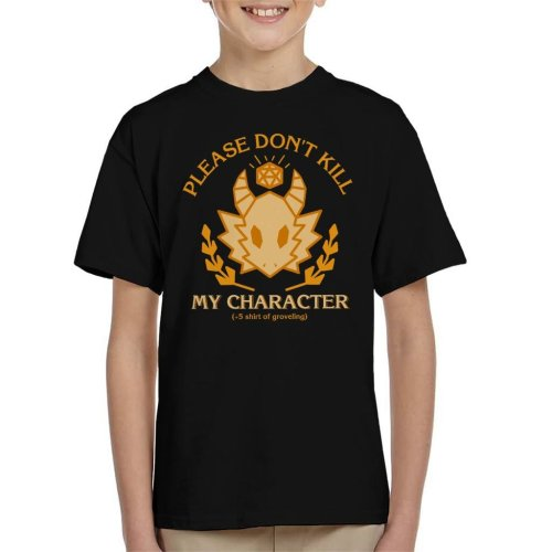 Dungeons And Dragons Grovelling Shirt Kid's T-Shirt