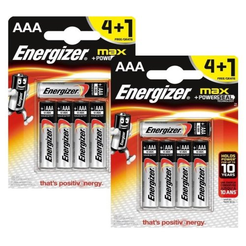 10 x Energizer AAA Alkaline Power Plus Batteries - LR03, MX2400, MN2400, MICRO