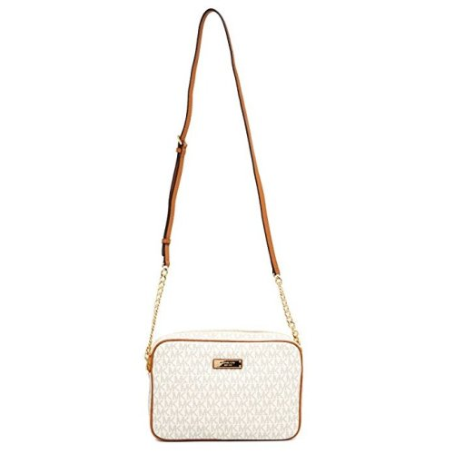 Michael Kors Jet Set Large Crossbody - Vanilla - 32S7GJSC7B-150