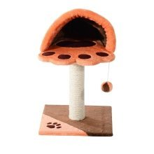 Pawhut 67cm Height Cat Tree Kitten Scratching Post Activity Center Furniture Pet Bed Play Area House