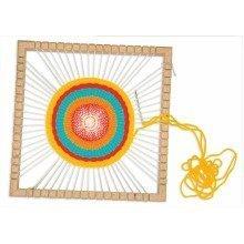 Pbx2470617 - Playbox - Circular Weaving Frame W/needle & Weaving Stick