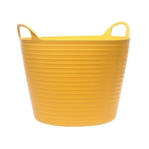 42 Litre Flexi Tub Bucket Yellow