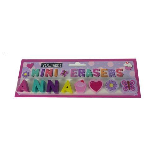 Childrens Mini Erasers - Anna