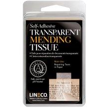 "Lineco Self-Adhesive Book Mending Tissue-Transparent .5""X12'"