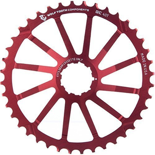 Wolf Tooth Components Giant Cog For Sram Red 40T