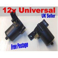 Universal 12 Volt Windscreen Washer Pump Bottle Car Van Auto