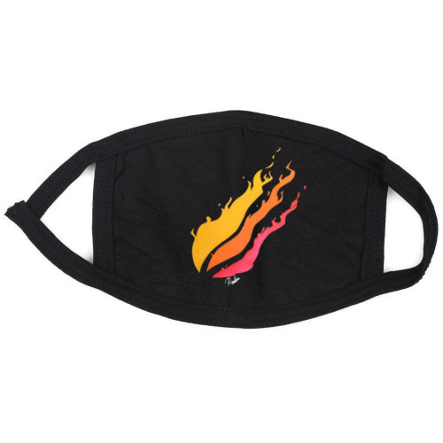 prestonplayz YouTuber colored flame Face,Mouth Mask