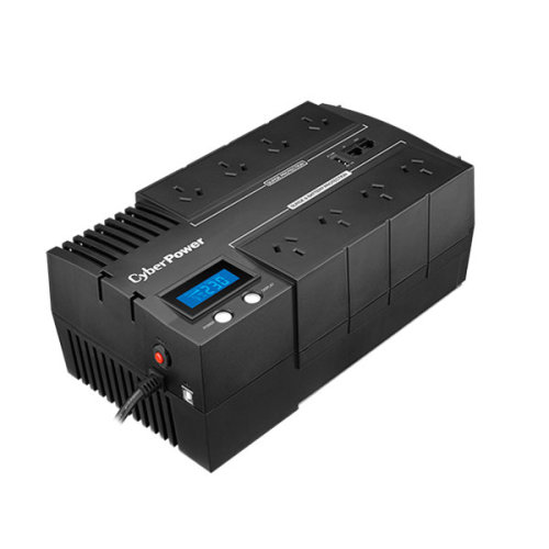 CyberPower BR1200ELCD Line-Interactive 1200VA 8AC outlet(s) Compact Black uninterruptible power supply (UPS)