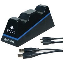 4Gamers Officially Licensed Dual Charge 'N' Stand PS4