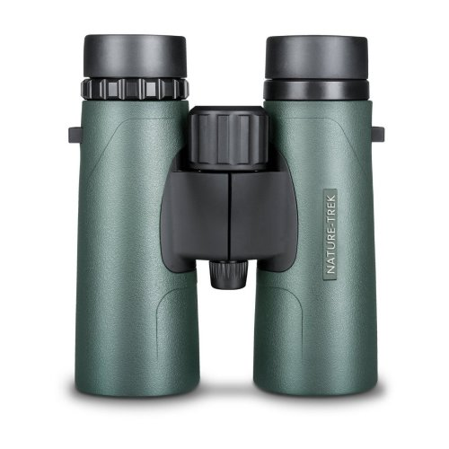 Hawke Nature Trek Binoculars - BAK 4 Roof Prism - 10x42 Green - latest version