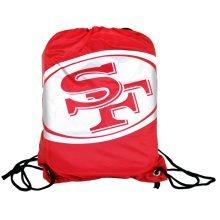 San Francisco 49ers - Silver Logo Gym Bag - Official Nfl Licensed Product Fp -  official nfl san francisco gym bag licensed product 49ers fp logo