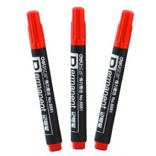 Set of 10 Fine Point Pant Marker, Permanent Marking Pen Writing Brush, Red