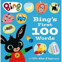 Bing's First 100 Words: A lift-the-flap book (Bing)