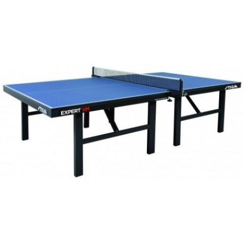 Stiga Table Tennis Table Expert VM ITTF Blue with a 30mm Top