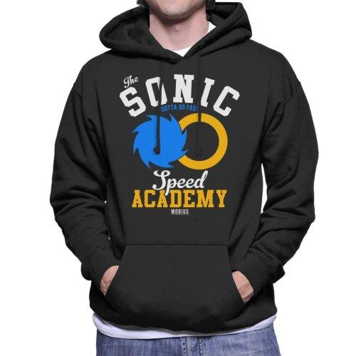 Sonic The Hedgehog Speed Academy Men's Hooded Sweatshirt