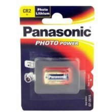 Panasonic Lithium Camera Battery CR2 Electronic Batteries (CR2)