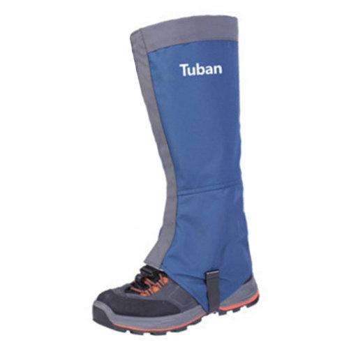 Sports Shoe Gaiters Waterproof Binding Podotheca Foot Strap,1 Pair,Blue