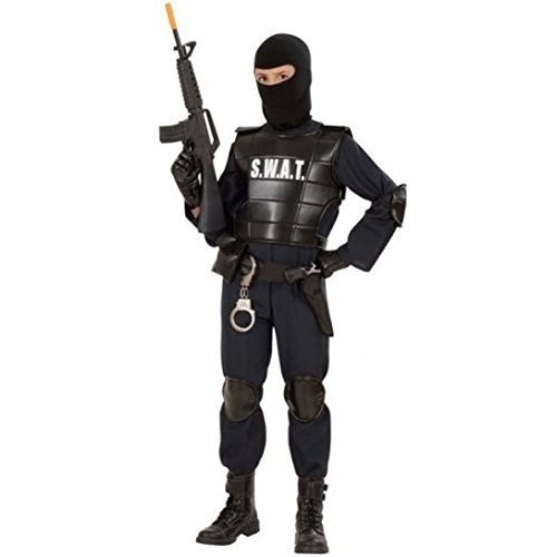 Childrenu0027s Swat Officer Child 128cm Costume For Cop Fancy Dress - swat costume boys officer childs police cop fancy dress kids pc outfit book week  sc 1 st  OnBuy & Childrenu0027s Swat Officer Child 128cm Costume For Cop Fancy Dress ...