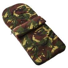 Fleece Footmuff Compatible With Mountain Buggy Nano - Camouflage
