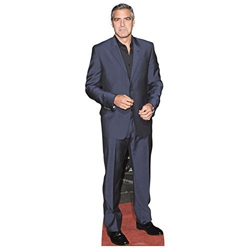 Star Cutouts Lifesize Cardboard Cutout of George Clooney