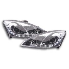 Daylight headlight  Ford Focus 3/4/5-door. Year 01-04 chrome