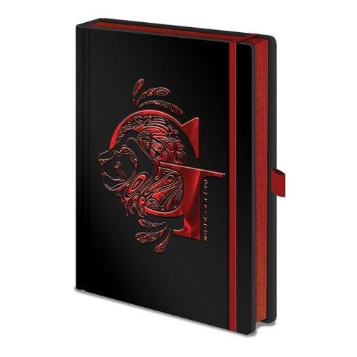 Harry Potter (Gryffindor Foil)  Premium A5 Notebook