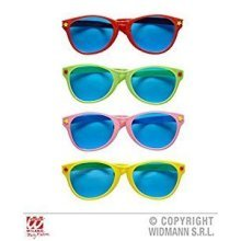 Giant Sunglasses -1 Of Either Red Green Pink Yellow Glasses Accessory For New - -  giant sunglasses red green pink yellow accessory fancy dress
