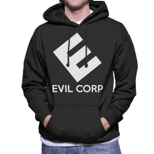 Evil E Corp Mr Robot Men's Hooded Sweatshirt