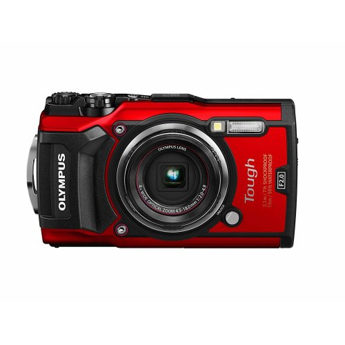 Olympus Tough TG-5 Camera - Red | Waterproof Digital Camera
