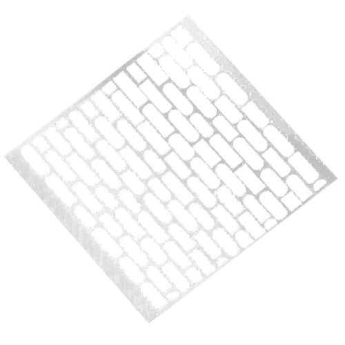 Drawing Painting Drawing Planner Stencil Template Ruler White Set 6 Art
